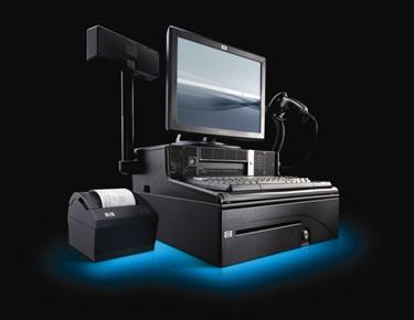 Hewlett Packard Rp3000 Pos Point Of Sale Complete Bundle
